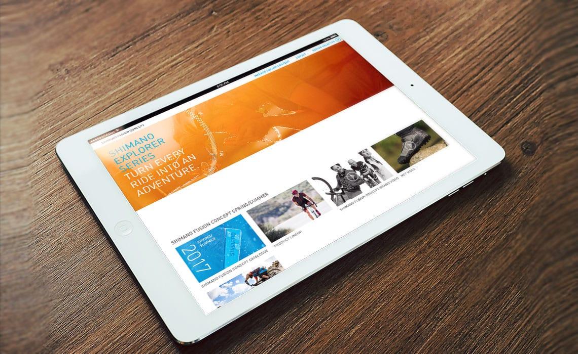 Shimano-iOSApp-iPad-Landscape-mode